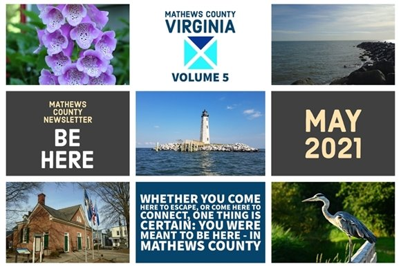 Mathews County May 2021 Newsletter Cover
