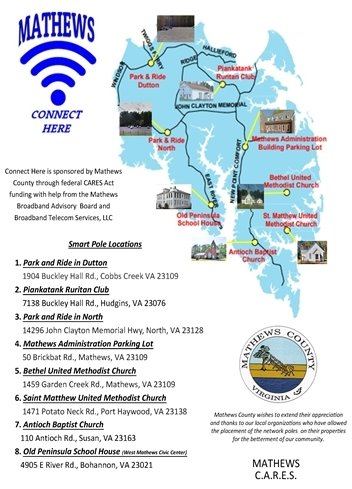 Broadband Advisory Board Map